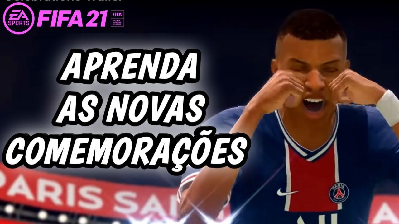 FIFA 21 - APRENDA AS NOVAS COMEMORAÇÕES🔥🔥 NEW CELEBRATIONS TUTORIAL