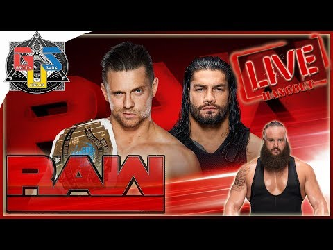 Wwe Raw 2 October 2017 Full Show Reaction Hangout Wwe Monday Night