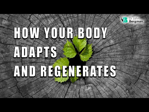 How Your Body Adapts and Regenerates.  Most Diseases Are Adaptations.