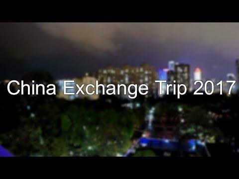 China Exchange Trip 2017