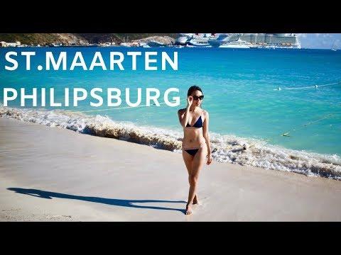 St.Maarten, Philipsburg | Travel Vlog | Karla Celicious