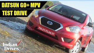 Datsun GO + MPV Test Drive And Review In India