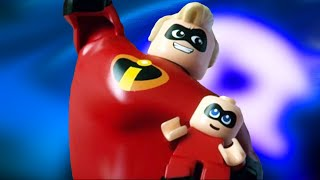 LEGO THE INCREDIBLES 2 FULL GAME 1080P HD (All Cutscenes From Story Mode)