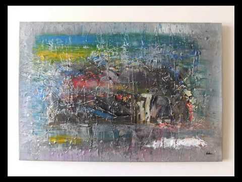 quadri ad olio moderni pittura astratta sanader art