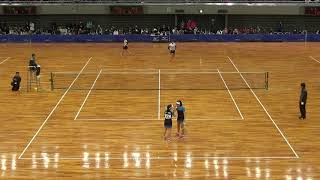 '18 全日本インドアソフトテニス選手権大会 女子 Dブロック 1 thumbnail