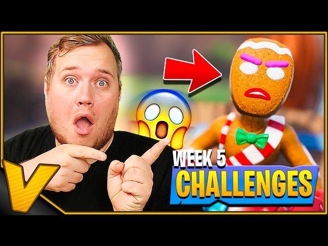 SUR KAGEMAND KLARER CHALLENGES! *WEEK 5* :: Fortnite Dansk