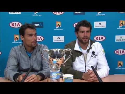Simone Bolelli and Fabio Fognini press conference (Final) - Australian Open 2015