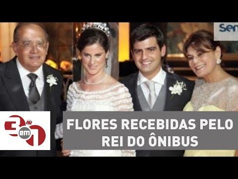Mulher De Gilmar Mendes Critica Repercussão Das Flores Recebidas Do