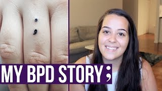 My Story: Borderline Personality Disorder & Semicolon Project Tattoo | Ellko