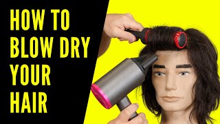 How to Blow Dŗy your Hair - TheSalonGuy