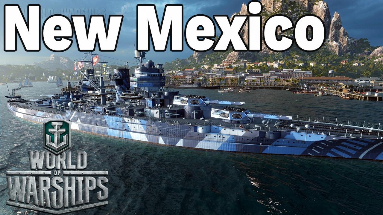 OSTATNIA SALWA – New Mexico  – World of Warships