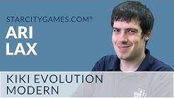 Modern: Kiki Evolution with Ari Lax - Round 1 [MTG]