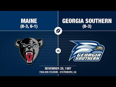 1987 Week 13 - Maine at Georgia Southern