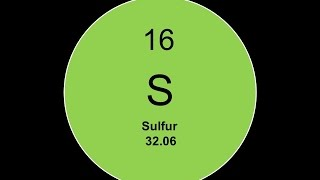 Element 16 - Sulfur Facts