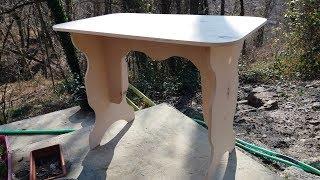 Как сделать стол из фанеры своими руками