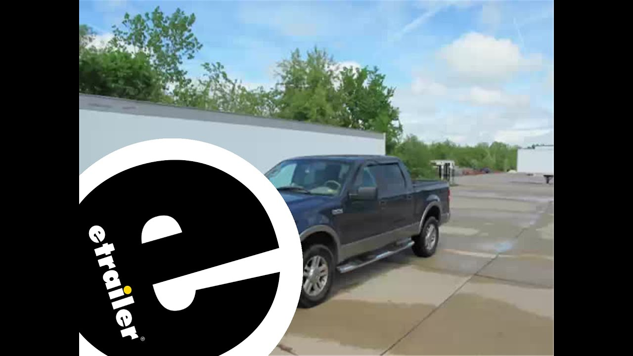 Review of the weathertech techliner truck bed mat on a 2005 ford f 150 etrailer com youtube