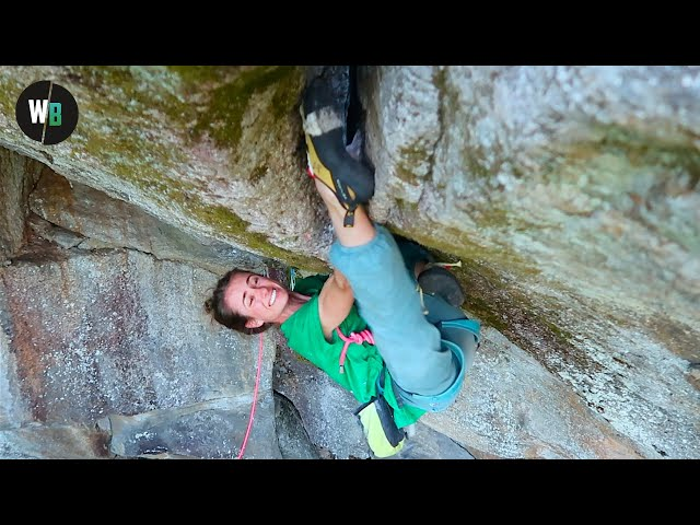 Flashing This Climb With A Foot First Sequence