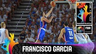 Francisco Garcia - Best Player (Dominican Republic) - 2014 FIBA Basketball World Cup