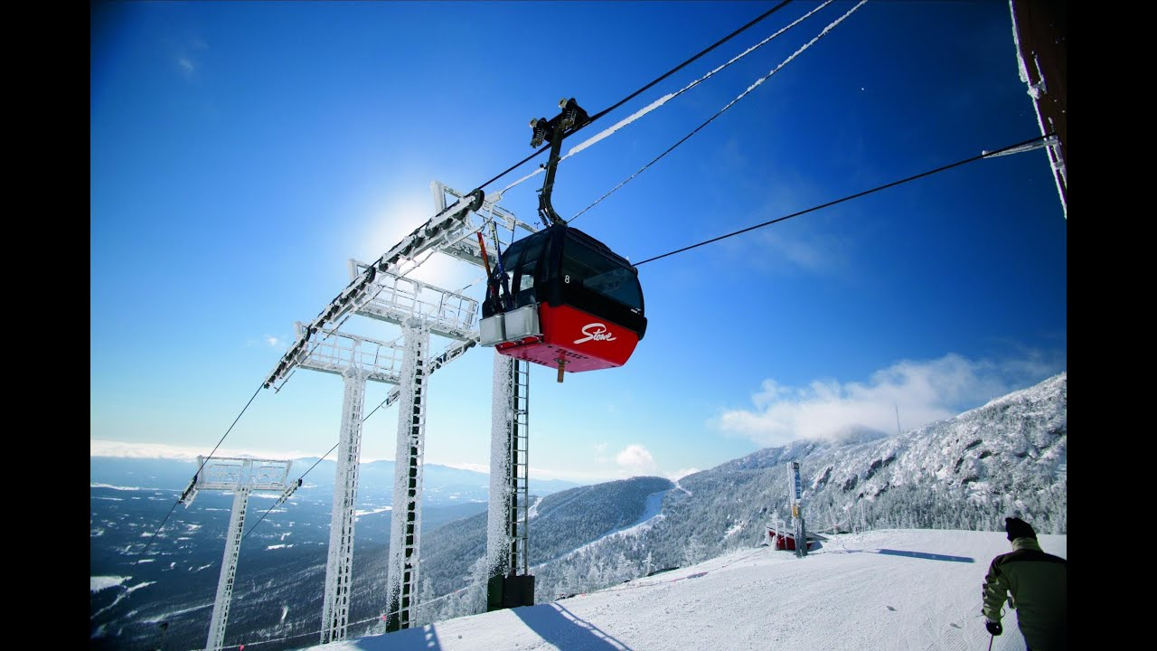 gopro: skiing stowe mountain resort vermont - youtube