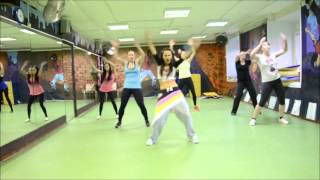 Major Lazer feat. Busy Signal - Watch Out For This (Bumaye) Zumba fitness with Maria Belc ...