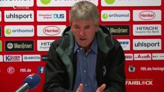 Pressekonferenz vor dem DFB-Pokalspiel gegen Arminia Bielefeld