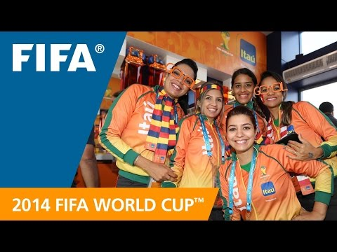 Itaú. The official bank of the 2014 FIFA World Cup™ and the Brazilian Football Team - FIFATV  - hV6mfSknR9M -