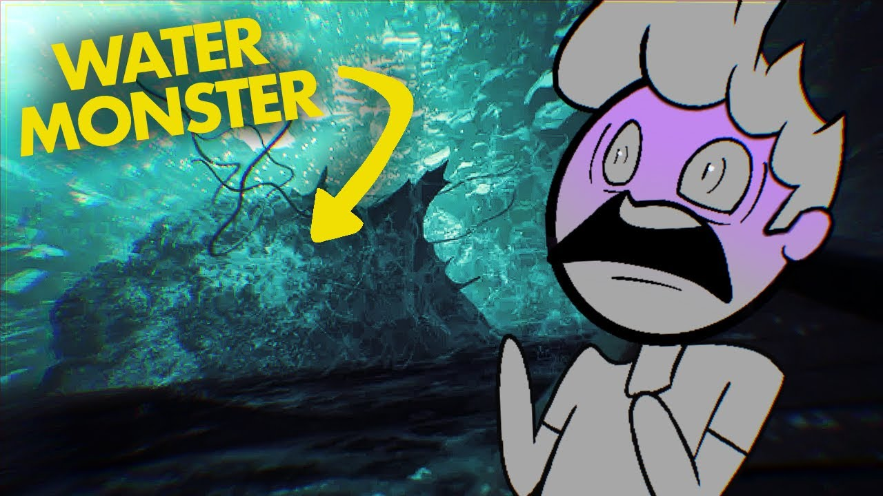 When you have Thalassophobia but you have to beat the water monster