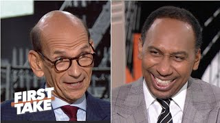Stephen A. and Paul Finebaum get heated over Clemson | First Take