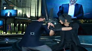 FINAL FANTASY XV - Square Enix CEO Boss Fight l Level 99 Square Enix President Superboss
