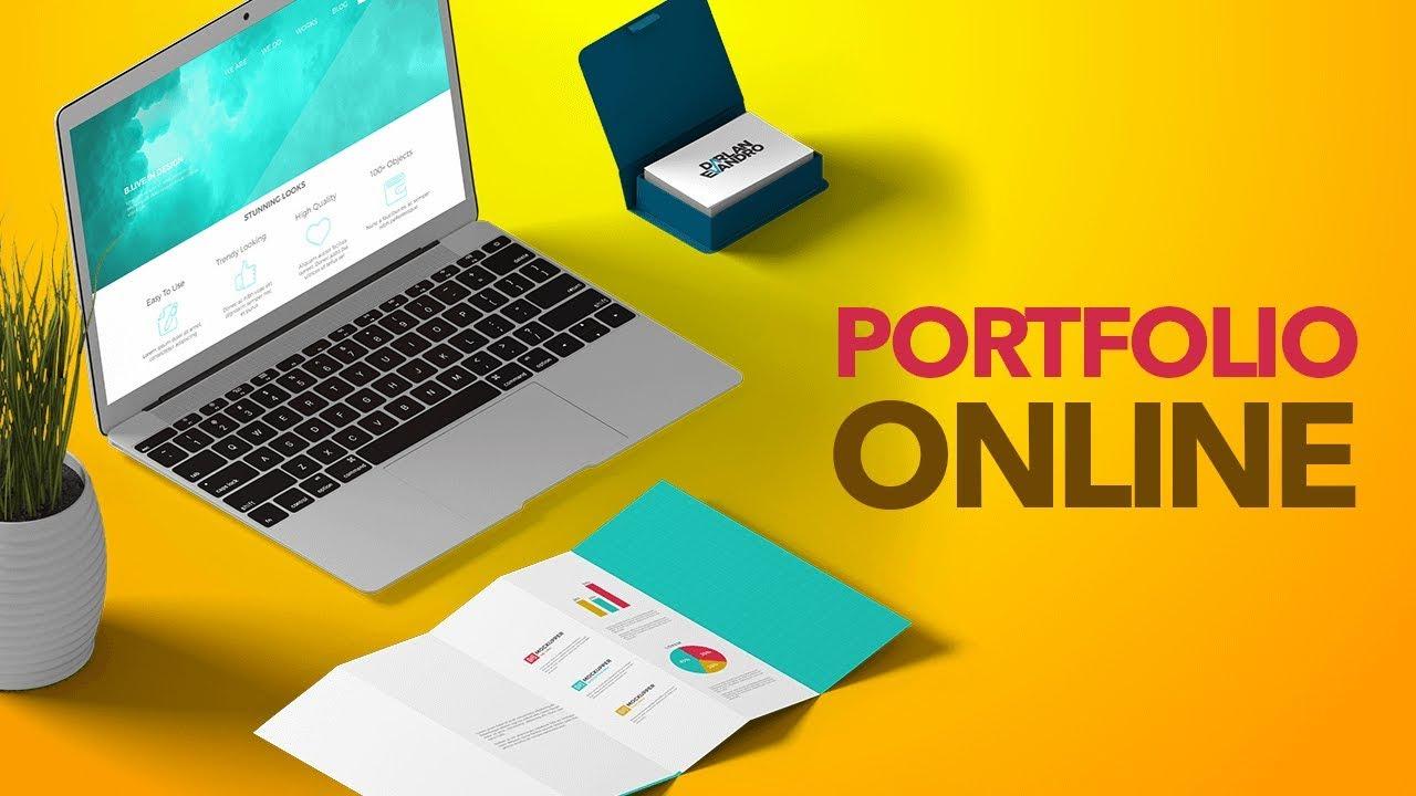 As melhores plataformas para criar um portfólio online