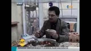 NTV Vedat Milor Tadı Damağımda 24.10.2014 Hatay yöresel yemekler tanıtılıyor. -