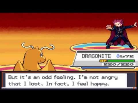 Pokémon Soul Silver - Battle vs. Champion Lance [Rematch]