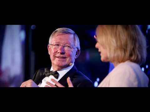 Street Soccer Scotland Annual Dinner 2017 with Sir Alex Ferguson