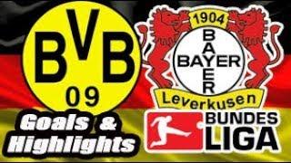 Borussia Dortmund vs Bayer Leverkusen - 2017-18 Bundesliga Highlights