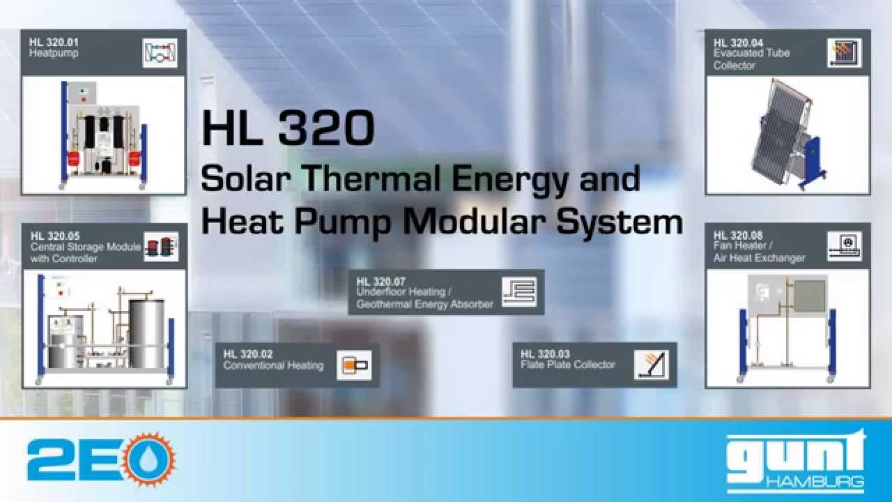 Solar Thermal Energy and Heat Pump Modular System HL 320 EN - YouTube