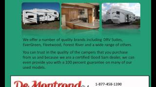 Find a Number of Luxurious 5th Wheel Campers at DeMontrond® RV