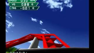 Coaster Works (Dreamcast) - Lv. 3, Treetops Park (104 points)