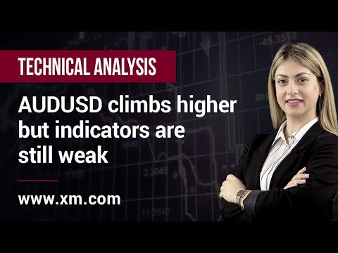 Technical Analysis: 10/04/2019 - AUDUSD climbs higher but indicators are still weak
