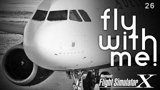 Microsoft Flight Simulator X - A320 to MSP