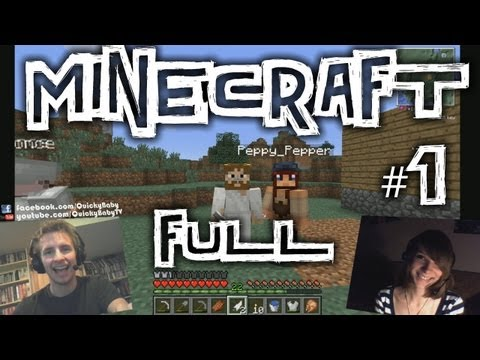 QuickyBaby: Minecraft Episode #1 FULL - FEED THE BEAST