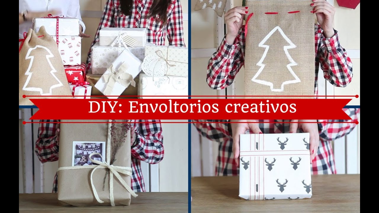 Envoltorios Regalos Originales Interesting Dibus En Papel Kraft  ~ Envoltorios Originales Para Regalos