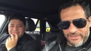 كواليس ماجد المصري في هوليوود (فيديو)