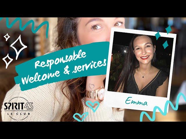 Emma - Responsable Welcome et Services - Travailler au Club Med