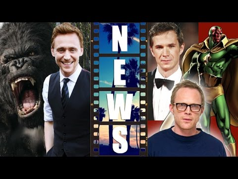 Skull Island 2016 with Tom Hiddleston! James D