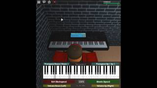 Doctor Who Theme - Doctor Who by: Ron Grainer on a ROBLOX piano. [Revamped]