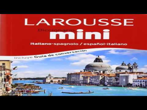 Diccionario mini español italiano italiano spagnolo Mini Dictionary Spanish Italian