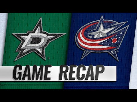 Blue Jackets net four goals in win against Stars