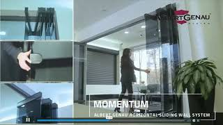MOVABLE GLASS WALLs   MOMENTUM