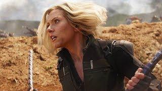 "AVENGERS INFINITY WAR ""Superheroines"" Clip + Blu-ray Trailer"