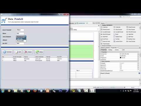 Membuat Aplikasi Kredit Motor Dengan Java